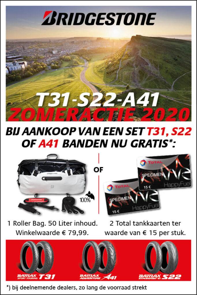 Webbanner Bridgestone Zomeractie 2020 60 x 90 mm NLNL